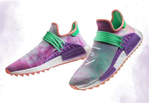 Nmd Human Race Pw Race Trail Multicolor pharrell 215 adidas nmd human race hu trailの4カラーが2 23 3 16に