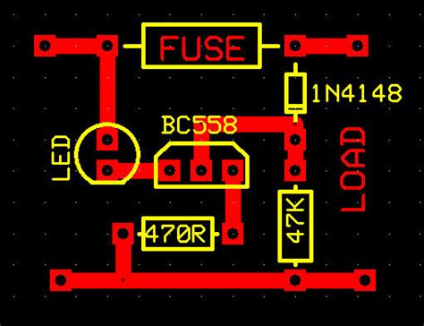 blown fuse indicator led circuit blown fuse indicator circuit with led all