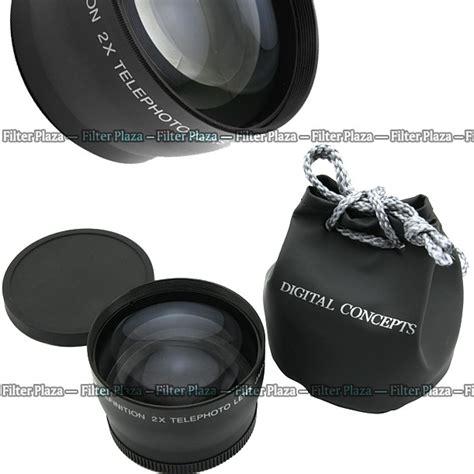 Tele Converter 2 2x 58mm 58mm 2 0x magnification telephoto tele converter lens for
