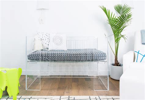 Lucite Crib by 12 Nursery Trends For 2016 Project Nursery