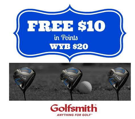 Can I Use My Golfsmith Gift Card At Golf Galaxy - sywr free 10 in points wyb 20 2 29 only