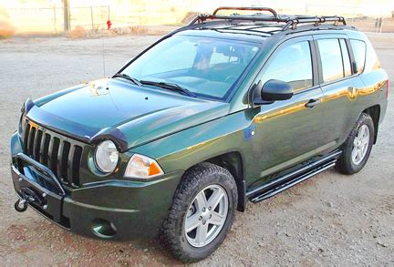 jeep compass lifted jeep compass bumper kits and winch kits for 2007 2010