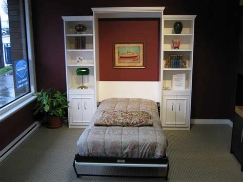 Murphy Bed Desk Ikea by Bed Desk Ikea Hacker Murphy Wall Bed With Brown Make A Simple Room By Using Diy Murphy