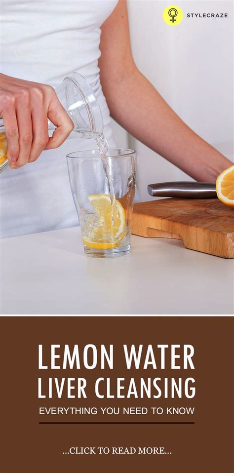 Cocaine Liver Detox by Lemon Water Liver Cleansing Everything You Need To