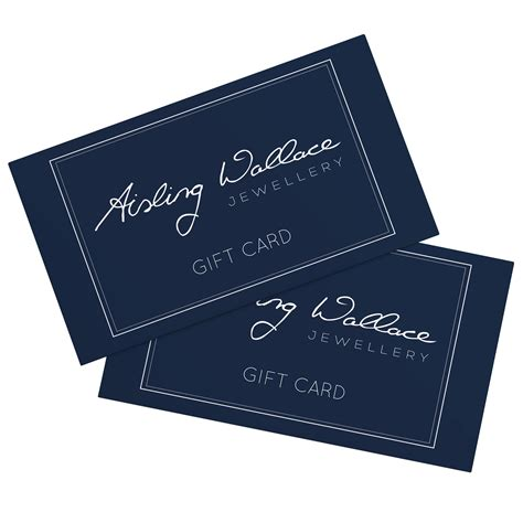 Sling Gift Card - gift cards aisling wallace jewellery site