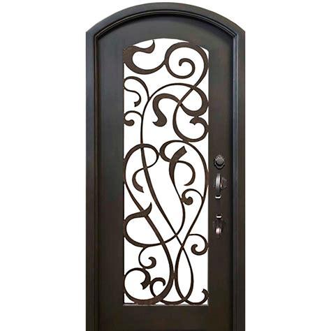 Wrought Iron Exterior Door Hardware Florida Iron Doors 40 In X 82 In Eyebrow St