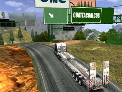 map mex usa canada haulin 18 wheels of steel haulin kenworth t800 2010 en oaxaca