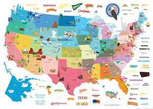Usa Map For Kids by Pics Photos Kids Illustrated United States Wall Map