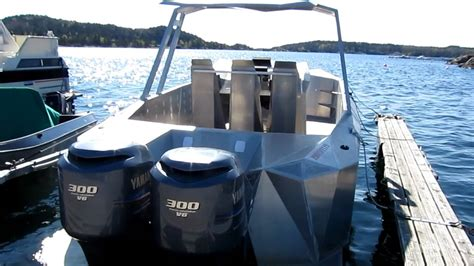 boat with suspension stealthcat m10 with g force boat deck suspension made by