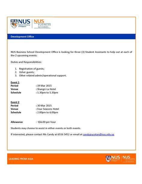 Nus Mba Application Status by Fass News Page 2