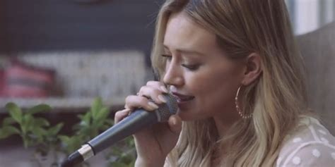 hilary duff tattoo acoustic mp3 download watch hilary duff perform a beautiful acoustic version of