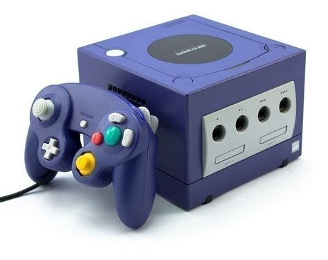 new gamecube console gamecube console purple incl 1 gamepad equipment
