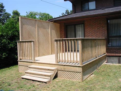 fencing for decks and patios icamblog
