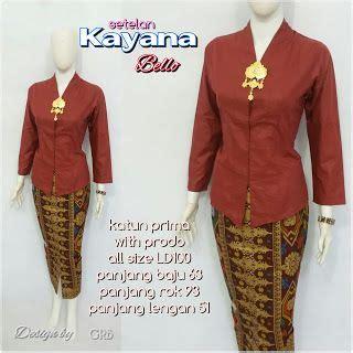Fashion Kebaya Wanita Kutubaru New baju batik kerja wanita grosir batik baju batik