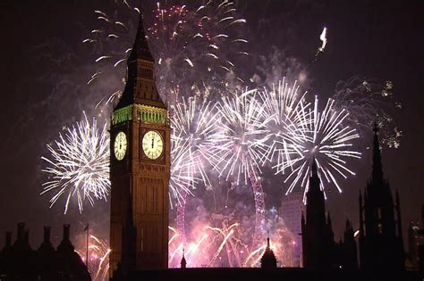 different new year celebrations around the world