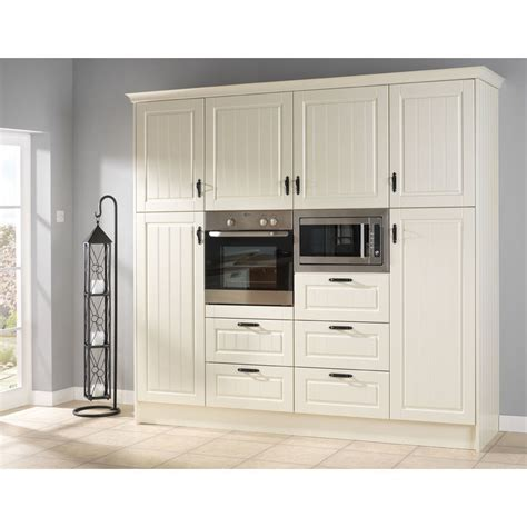 avondale ivory vinyl wrapped replacement kitchen cabinet