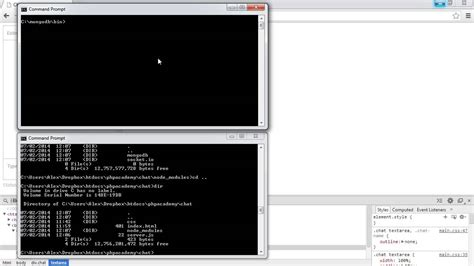 node js mongodb tutorial youtube node js real time chat node and mongodb part 3 7 youtube
