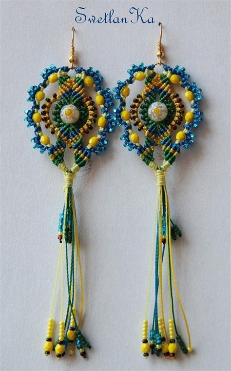 Macrame Supplies - 17 best images about macrame earrings on