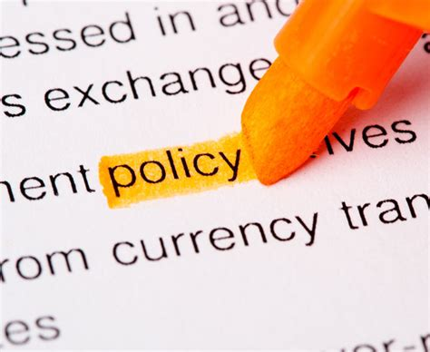 developing a records management policy template what