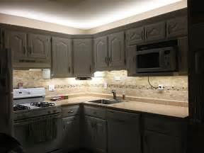 Under Cabinet Lighting In Kitchen by Under Cabinet Led Lighting Kit Complete Led Light Strip