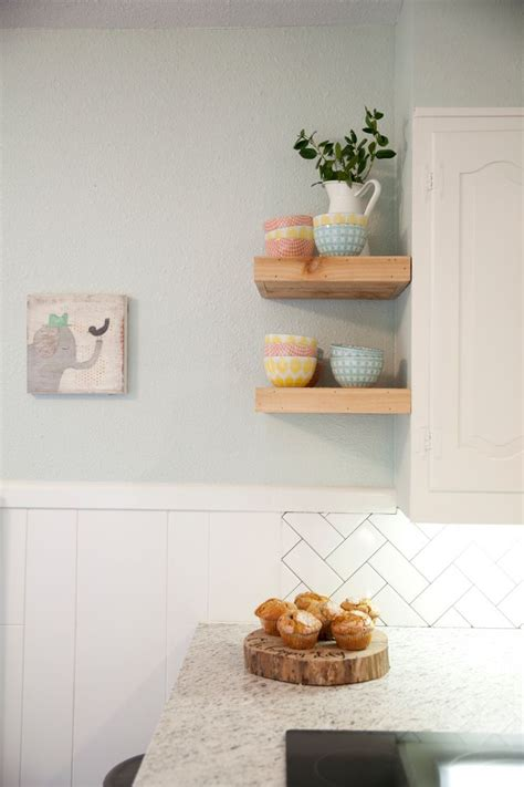 kitchen cabinet end shelf as seen on hgtv s fixer upper for the home pinterest