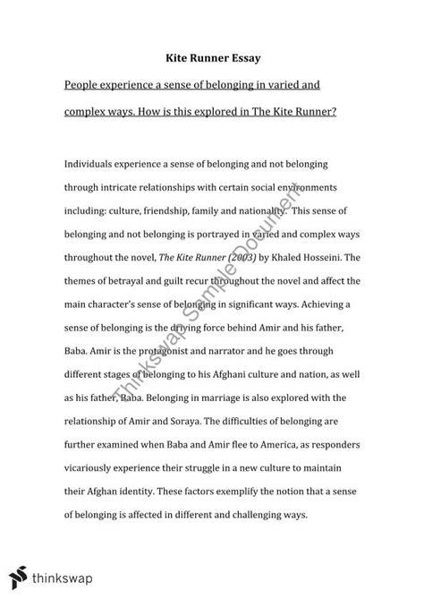 the kite runner themes pdf kite runner essay year 11 hsc english advanced