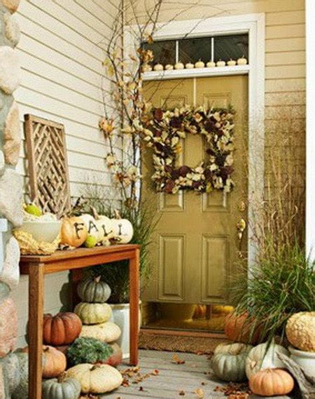 Fall Decorating Ideas For Your Front Porch by 33 Front Porch Decorating Ideas For Fall Us2