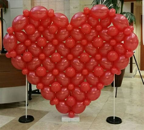 adorable valentines day balloon decorations