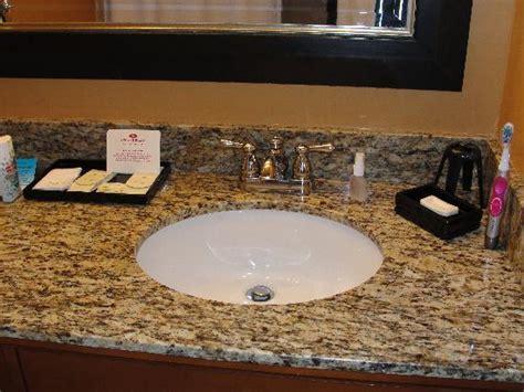 Bathroom Sink Tops Granite by Granite Sink Top In Bathroom Picture Of Crowne Plaza