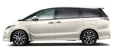 New Toyota Estima 2015 2016 Toyota Estima Hybrid Carsfeatured