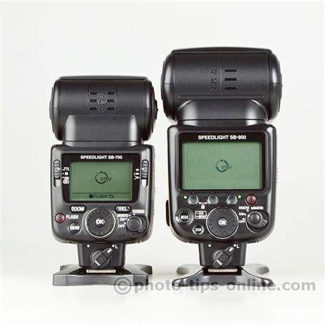Nikon Sb 900 nikon speedlight sb 700 vs nikon speedlight sb 900 back