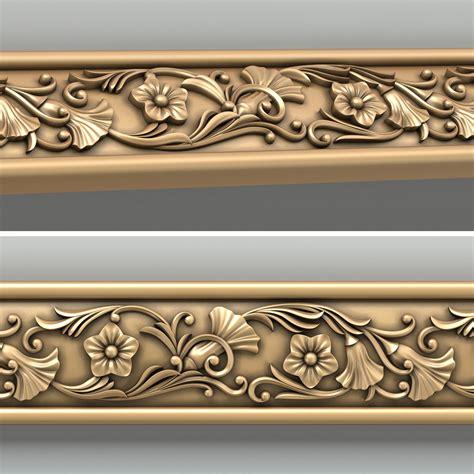 Decorative Wood Trim Moulding by 3d Decorative Molding Model Motifs