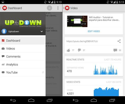 download youtube creator studio manage your channel from your smartphone with youtube