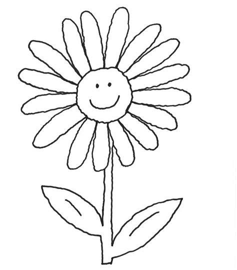 Kostenlose Vorlage Blumen Ausmalbild Blumen Strahlende Blume Kostenlos Ausdrucken