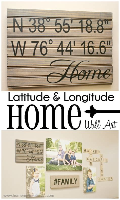 latitude and longitude of my house latitude longitude home wall art home made interest