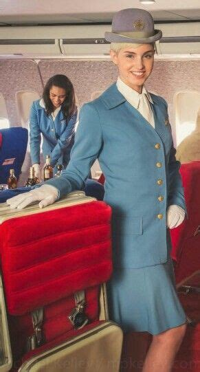 models  original pan  uniforms  photoshoot flight attendant uniform flight attendant