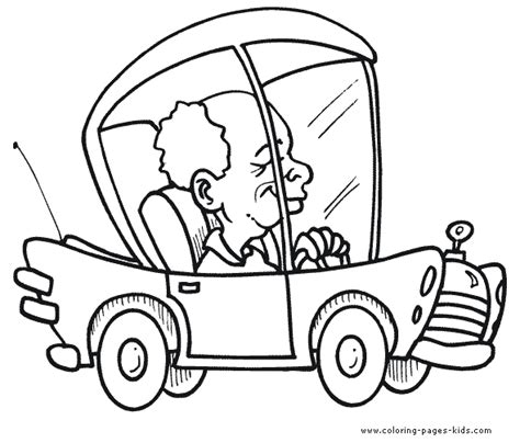 car driving coloring page car coloring page coloring pages for kids