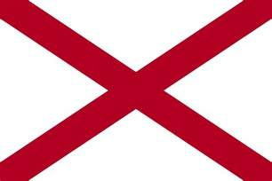 alabama state colors file flag of alabama svg simple the