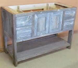 reclaimed barn wood bathroom vanity weathered gray minnesota reclaimed wood vanity barn wood