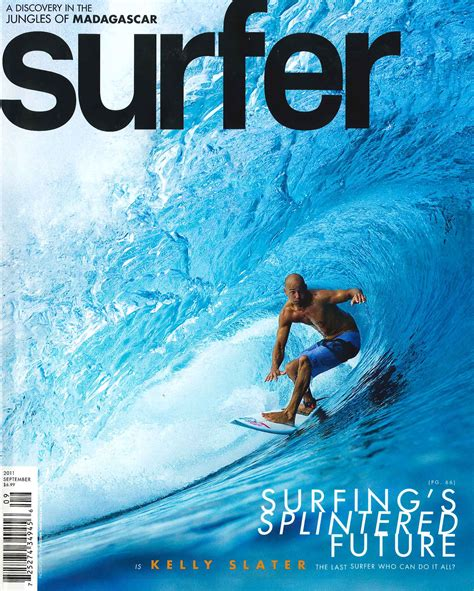 Qs Surfing gilmore in surfer magazine the surfer profile