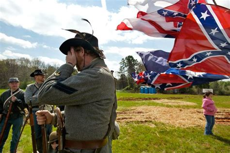 Muster Of Battle Was It Worth Effort To Move The Confederate Flag Forward Now