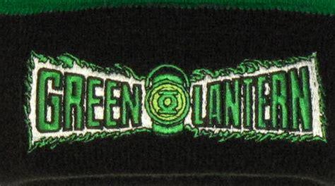 Green Lantern Logo Flip green lantern flip up beanie