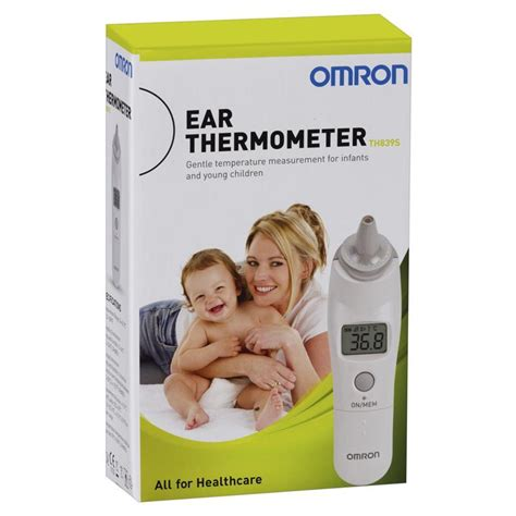 Ear Thermometer Omron buy omron th839s ear thermometer gift with purchase
