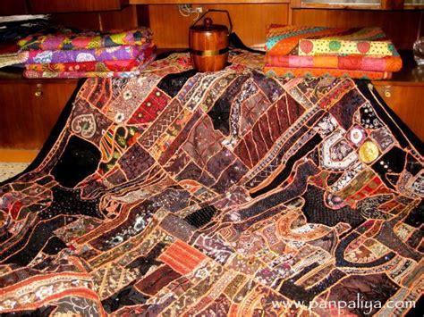 beaded bedspreads vintage sari bedding handmade beaded patch work bedspreads