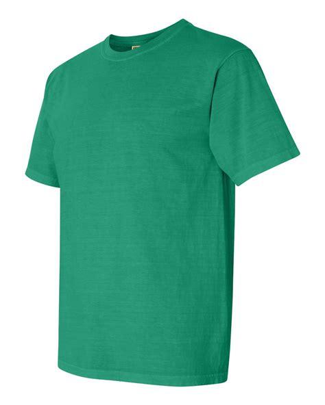 comfort colors grass comfort colors pigment dyed short sleeve 100 cotton t