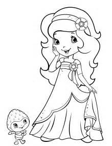 strawberry shortcake orange coloring pages coloring pages