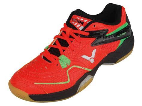 Sepatu Bulutangkis Merk Victor sh p7800 oc sepatu produk victor indonesia merk bulutangkis dunia