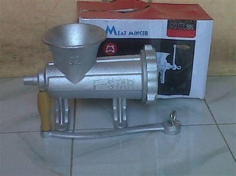 Grinder Manual Penggiling Daging Alat Gilingan Dag Murah 1 grinder mesin penggiling daging harga murah