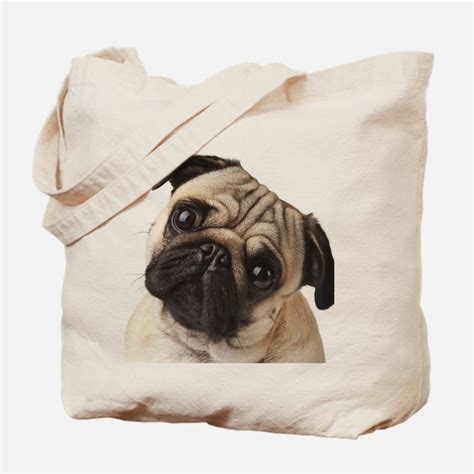pug purses and handbags pug bags totes personalized pug reusable bags