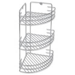 vidaxl co uk wall mounted metal shower corner shelf 3 tier